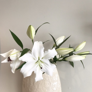 vase lilies